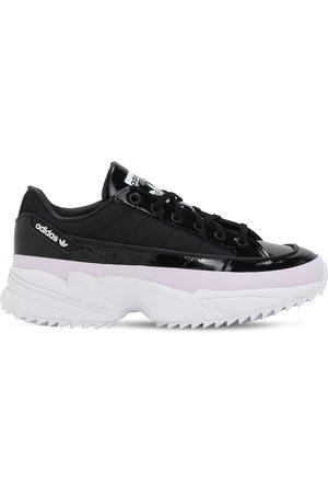 adidas Kiellor Coated Leather Sneakers