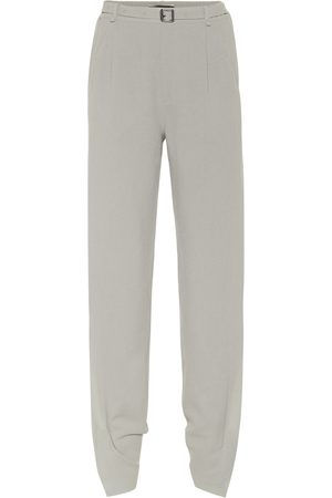 Roland Mouret Askern high-rise wool wide-leg pants