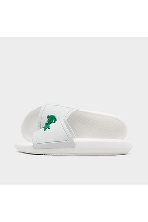 Lacoste Men's Croco 119 Slide Sandals in Size 8.0
