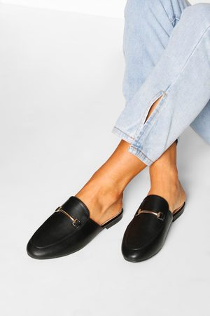 Boohoo Womens Basic Mule Loafers - - 5