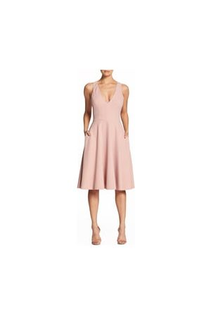Dress The Population Women's Catalina Fit & Flare Dress