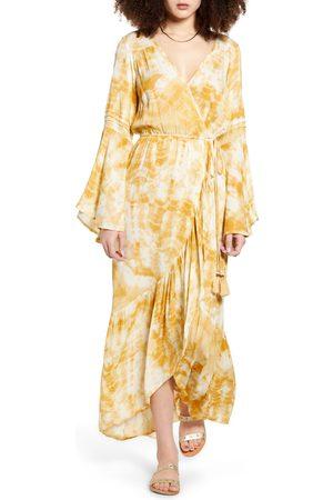 Band of Gypsies Women's Zion Long Sleeve Maxi Dress