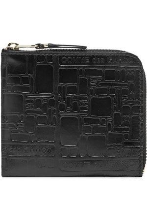 Comme des Garçons Wallet Men Wallets - Comme des Garcons SA3100EL Embossed Logo Wallet