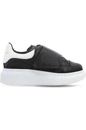Alexander McQueen Leather Strap Sneakers