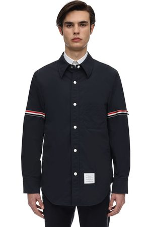 Thom Browne Nylon Shirt Jacket W/ Armbands