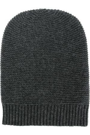 N.PEAL Classic fitted beanie - Grey