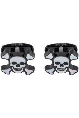 Paul Smith Men Cufflinks - Skull and bones cufflinks