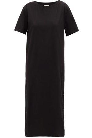 Moncler Press-stud Cotton Dress - Womens