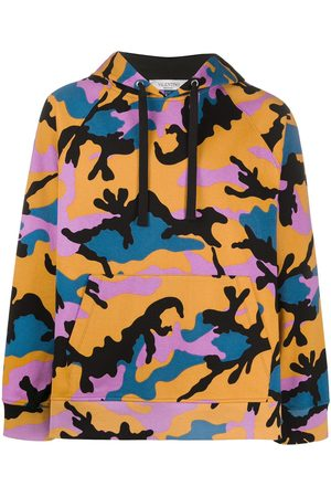 VALENTINO Camouflage-pattern hoodie