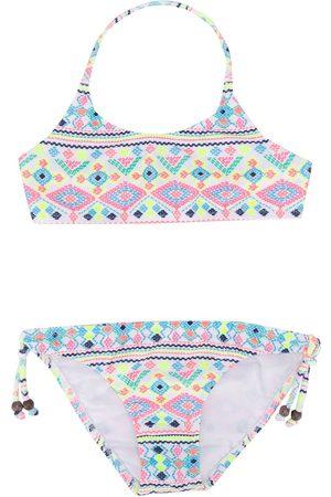 SUNUVA Girls Bikinis - Geometric print bikini set
