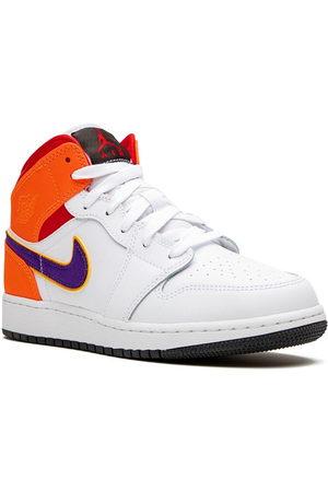 Nike TEEN Air Jordan 1 Mid GS three peat