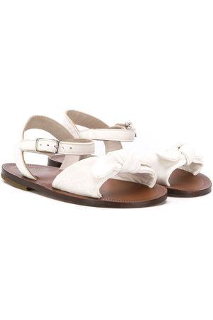 PèPè Front bow sandals