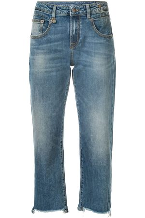 R13 Women Straight - Cropped straight-leg jeans