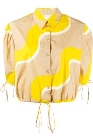 Chinti And Parker Wave print cotton shirt