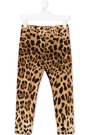 Dolce & Gabbana Leopard-print leggings