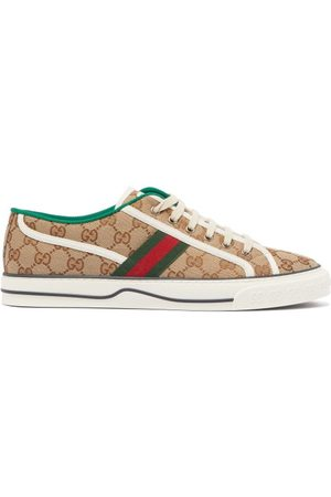 Gucci Tennis 1977 Gg-canvas Trainers - Mens
