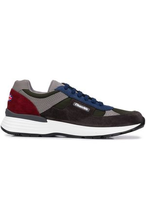 Church's Colour block lace-up sneakers - Grey