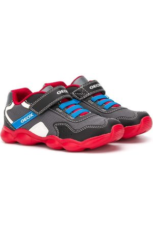 Geox Contrast panel touch strap sneakers