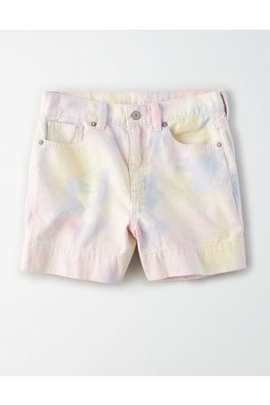 American Eagle Outfitters Stretch Denim Mom Shorts Women's 2