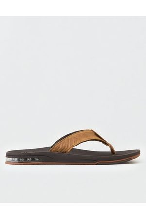 American Eagle Outfitters Reef Men's Fanning Low Leather Flip Flops Men's 10