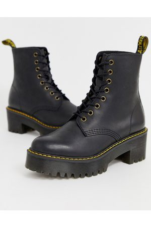 Dr. Martens Women Ankle Boots - Shriver Hi Wyoming heeled ankle boots in