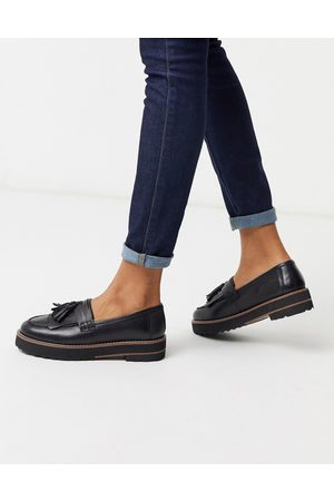 ASOS Loafers - Meze chunky fringed leather loafers in