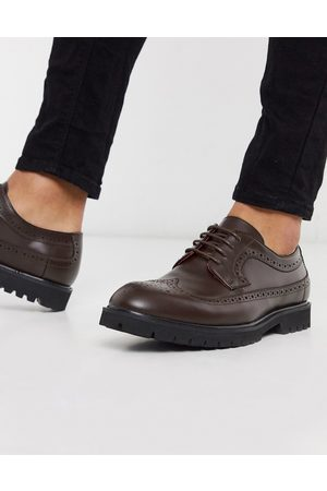 Devils Advocate Brogues - Lace up leather brogues in