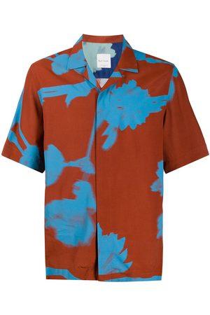 Paul Smith Abstract-print short-sleeved shirt