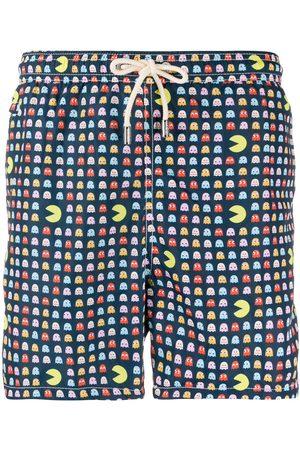 MC2 SAINT BARTH Pacman-print swim shorts