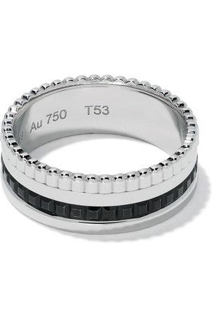 Boucheron 18kt white gold Quatre Black small ring - WG