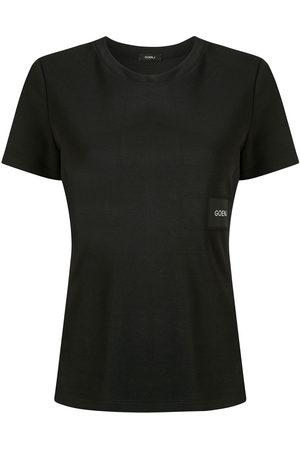 GOEN.J Logo patch T-shirt