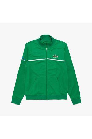 Lacoste Men's Sport Miami Open Resistant Piqué Zip Jacket : /
