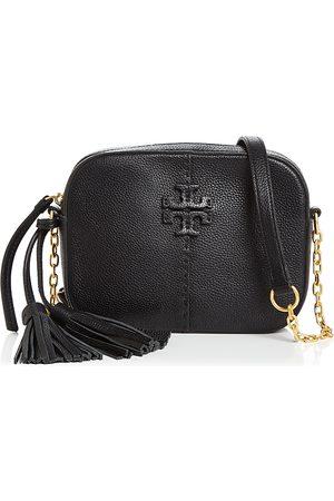Tory Burch McGraw Mini Leather Crossbody Camera Bag