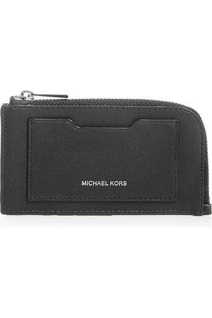 Michael Kors Leather Zip Card Case