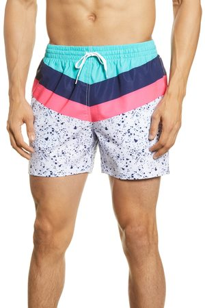 Chubbies Men's Aquatic Libations 5.5-Inch Swim Trunks