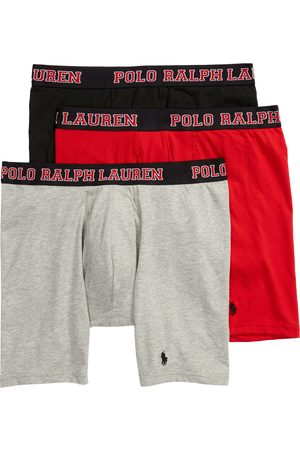 Polo Ralph Lauren Men's Assorted 3-Pack Cotton Blend Boxer Briefs