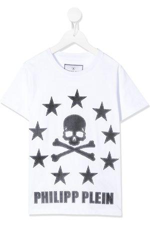Philipp Plein Skull star print T-shirt
