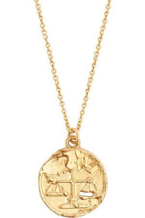 Alighieri Libra 24kt -plated Necklace - Mens