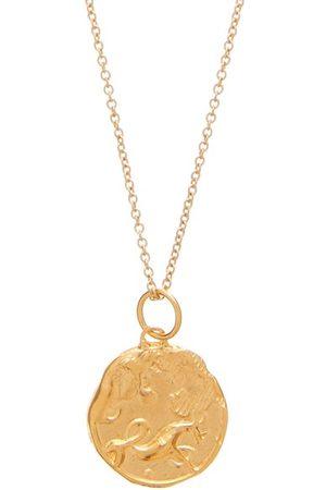 Alighieri Capricorn 24kt -plated Necklace - Mens