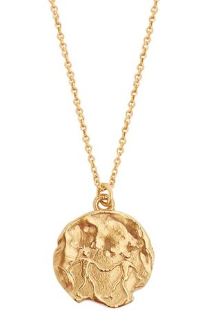 Alighieri Gemini 24kt -plated Necklace - Mens
