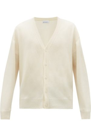 Raey Loose-fit Cashmere Cardigan - Mens - Ivory