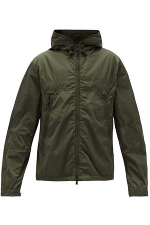 Moncler Technical Zip-through Hooded Jacket - Mens - Khaki