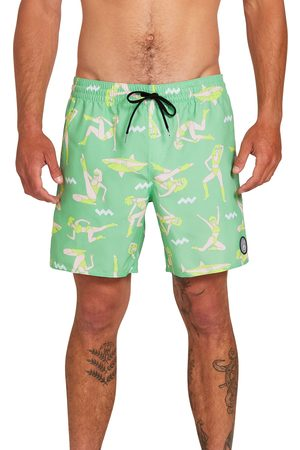 Volcom Men's Sink Or Swim Swim Trunks