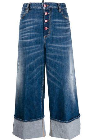 Dsquared2 Women Wide Leg - Wide-leg jeans