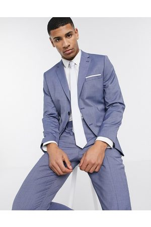 Selected Suits - Skinny fit stretch suit jacket in blue