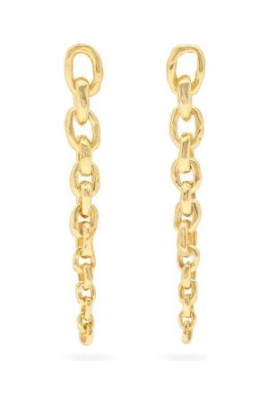PATCHARAVIPA Edges 18kt Chain Earrings - Womens