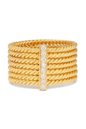 PATCHARAVIPA Reef Diamond & 18kt Ring - Womens