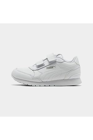 PUMA Boys' Little Kids' ST Runner V2 Leather Casual Shoes in /