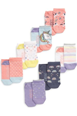 Tucker + Tate Toddler Girl's Days Of The Week Assorted 7-Pack No-Show Socks