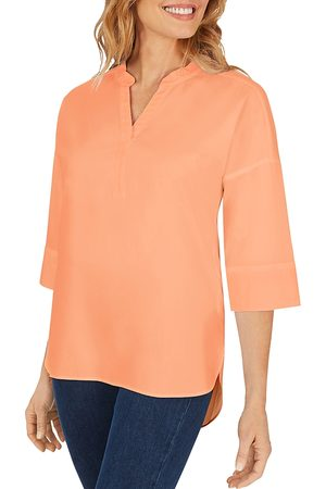 Foxcroft Women Tops - Roman Non-Iron Solid Stretch Top